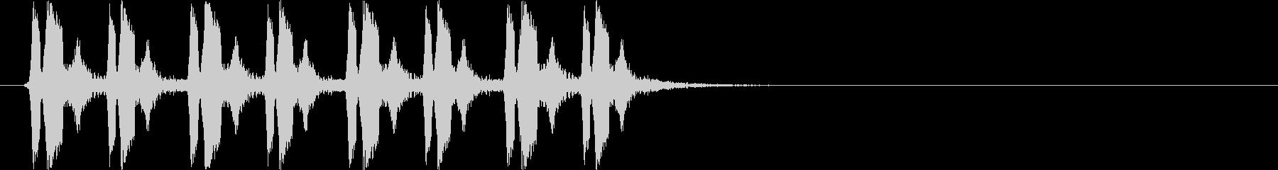 ピヨピヨピヨピヨ(混乱状態)の未再生の波形