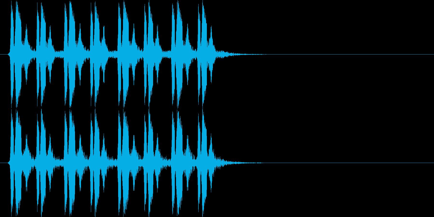 ピヨピヨピヨピヨ(混乱状態)の再生済みの波形