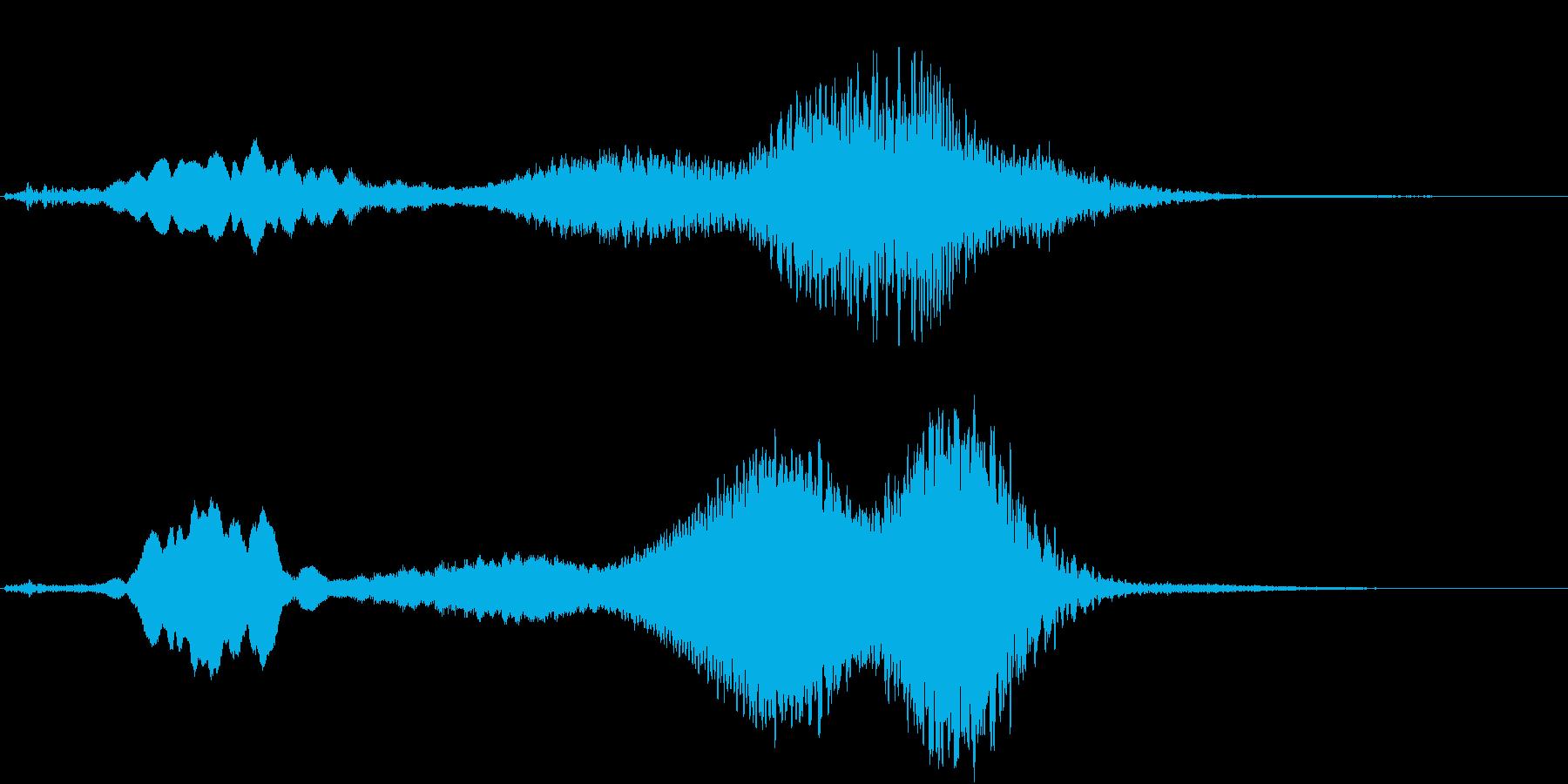 Texture 映画向け空間演出SE 5の再生済みの波形