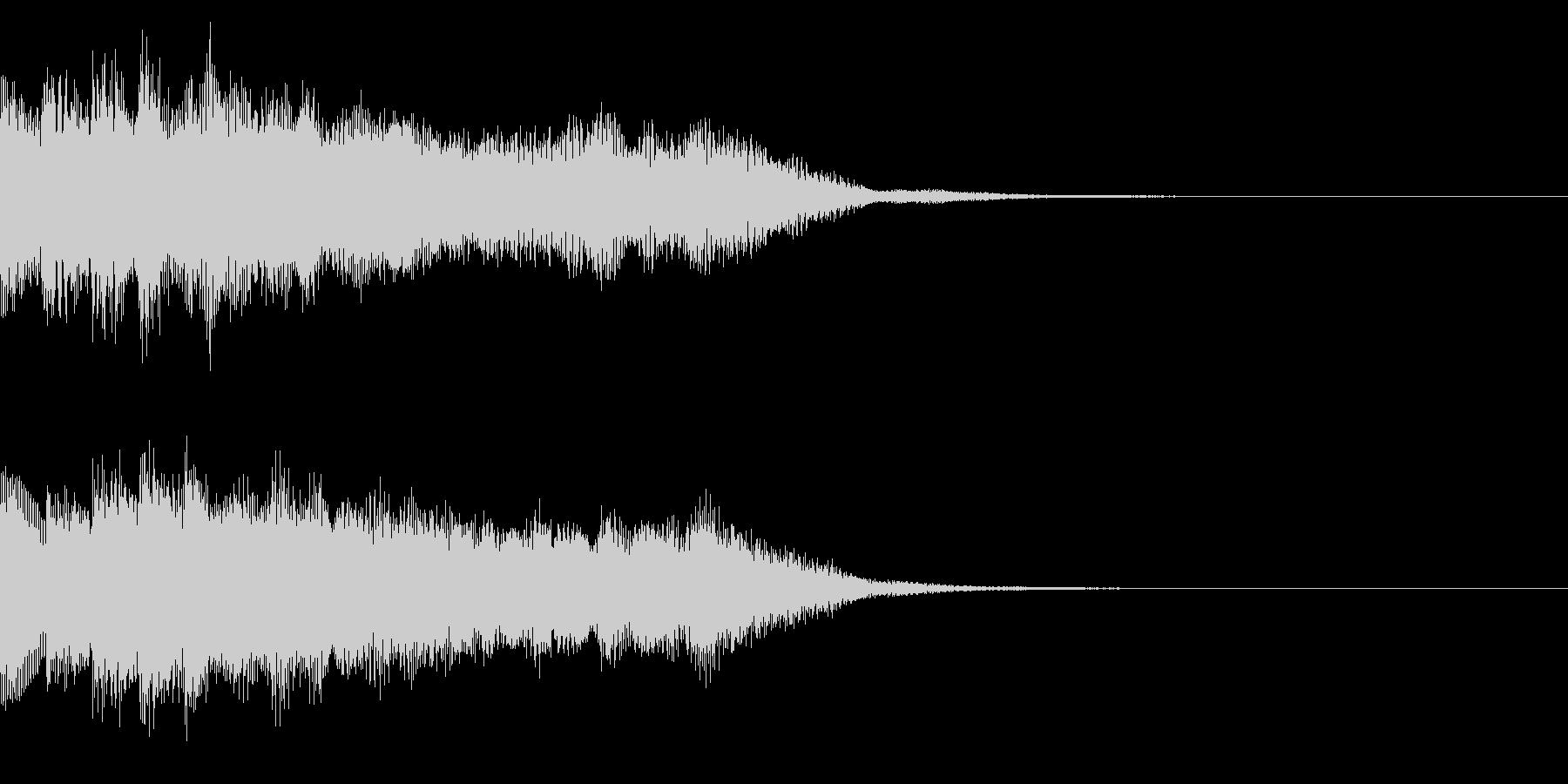 サウンドロゴ24_シンセの未再生の波形