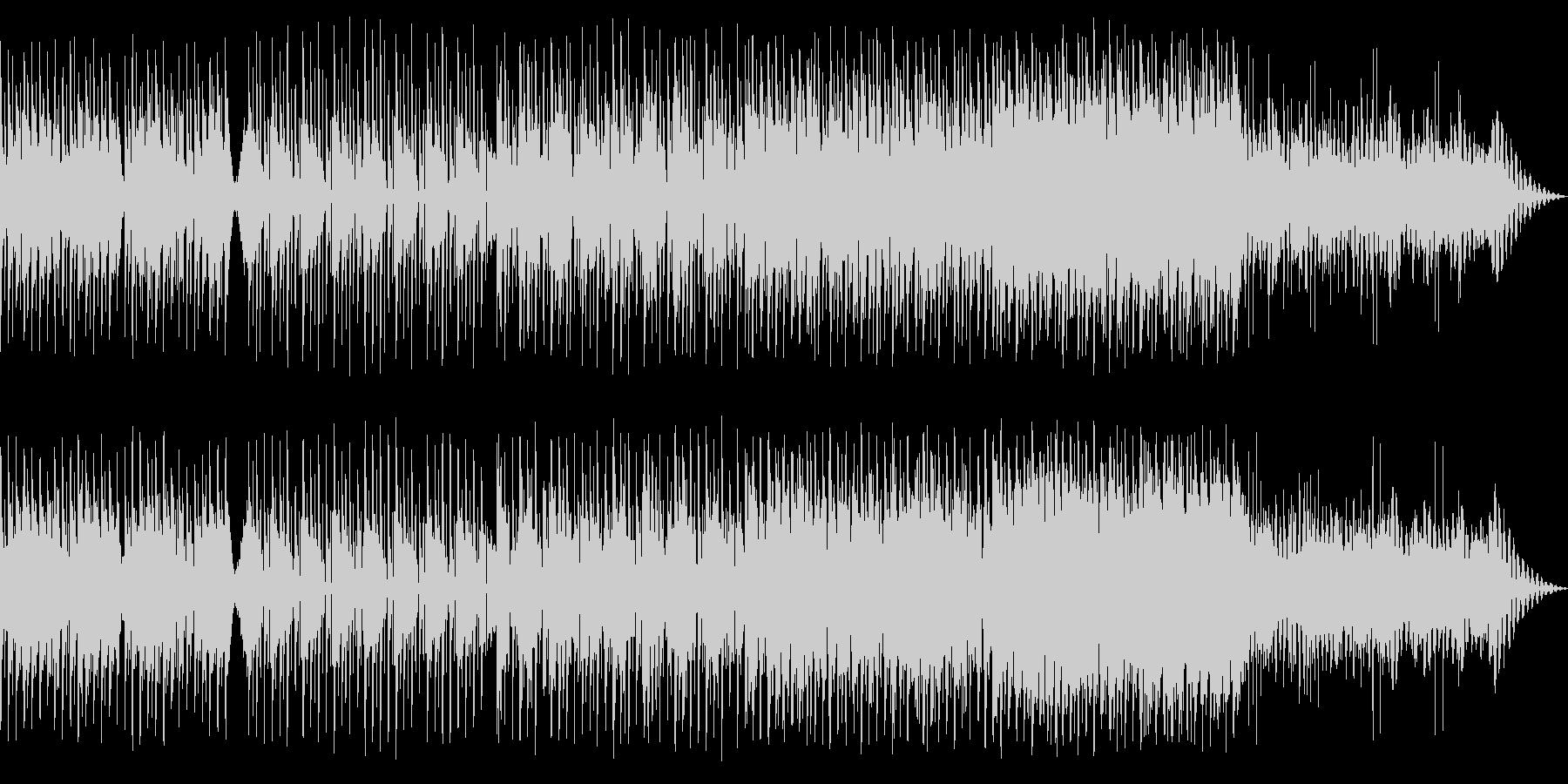 アップテンポなシンセポップの未再生の波形