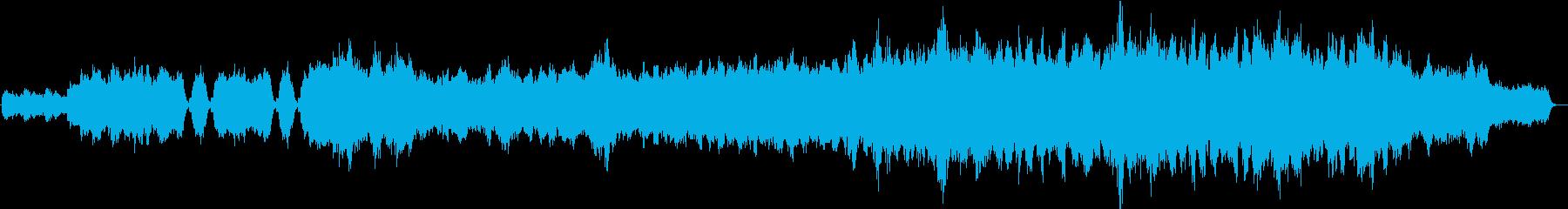 王道感動系BGMの再生済みの波形