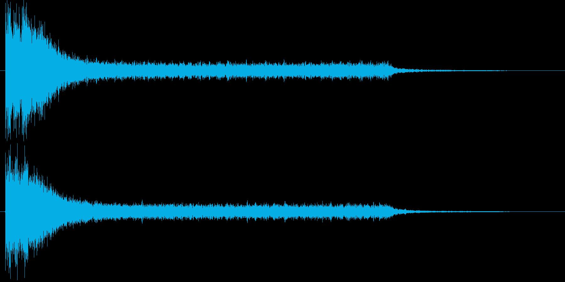 サスペンスのショートソングの再生済みの波形