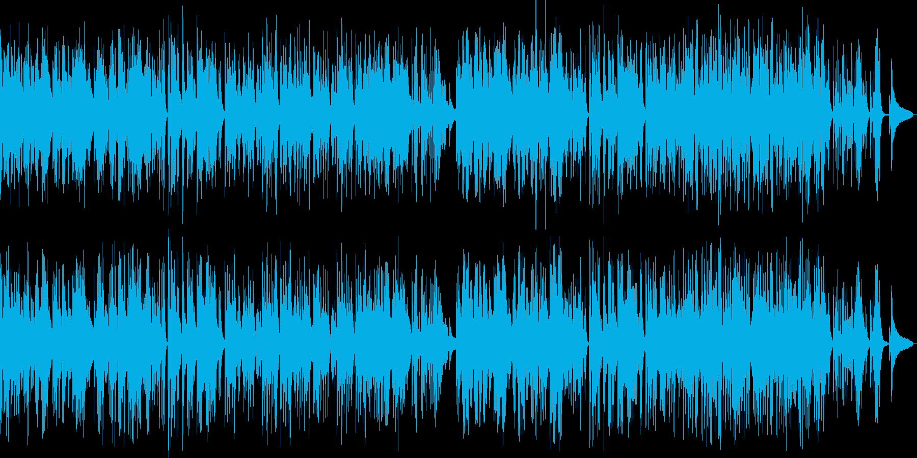 映像ピアノ切ないバラードドキュメンタリーの再生済みの波形