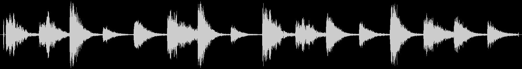 ドラムループ 可能 ウェット系01!の未再生の波形