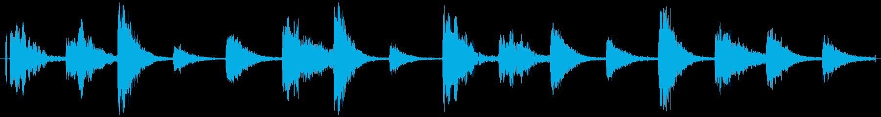 ドラムループ 可能 ウェット系01!の再生済みの波形