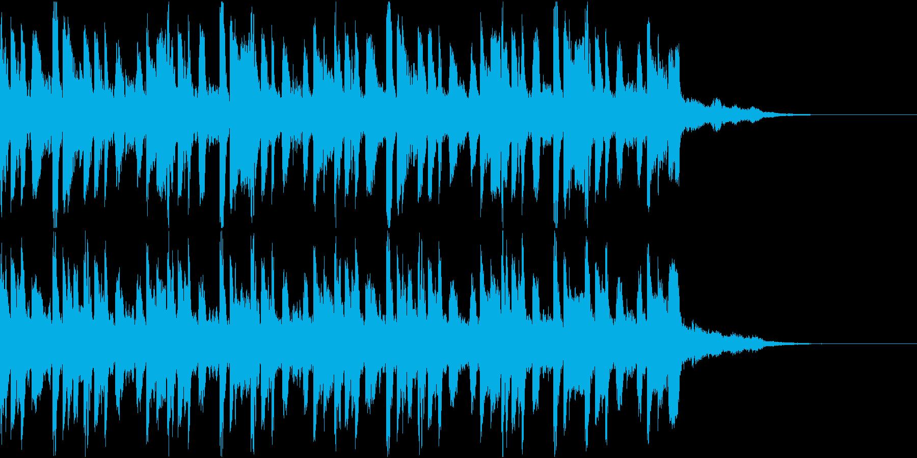 ニュース ラジオ テクノジングル2の再生済みの波形