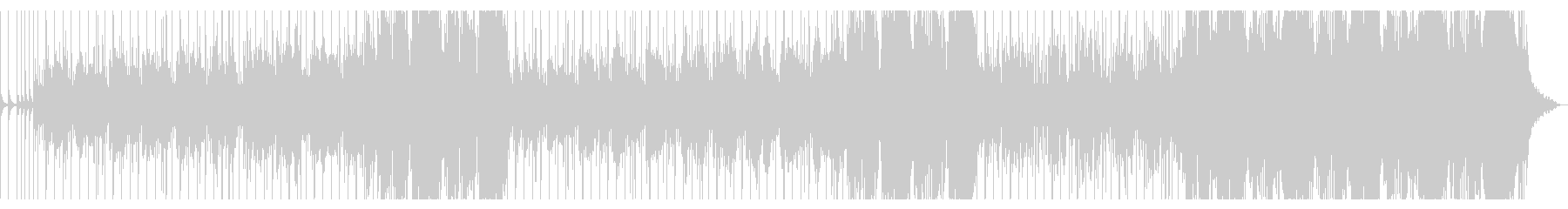 スティールドラムが印象的な夏のレゲエの未再生の波形