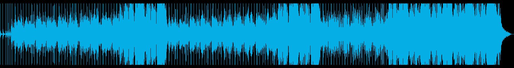スティールドラムが印象的な夏のレゲエの再生済みの波形
