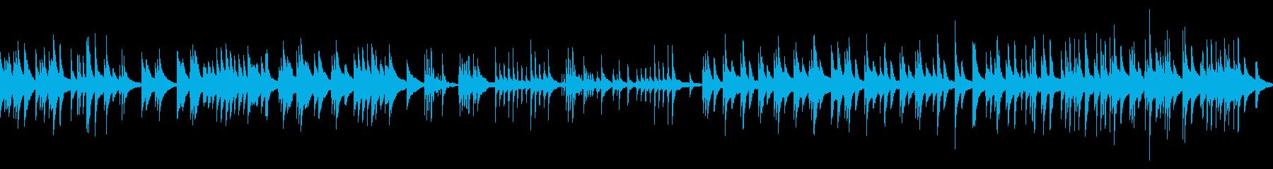 切ないピアノソロ単音結婚式感謝の手紙の再生済みの波形