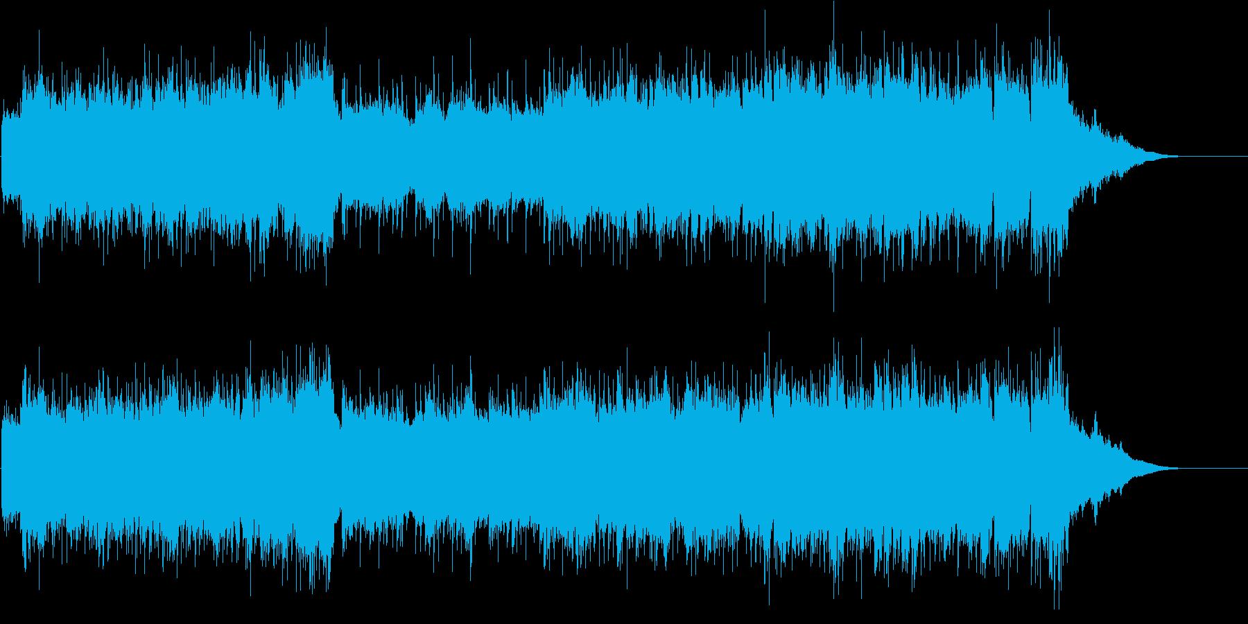 登場 表彰 発表 オープニング 朝の再生済みの波形