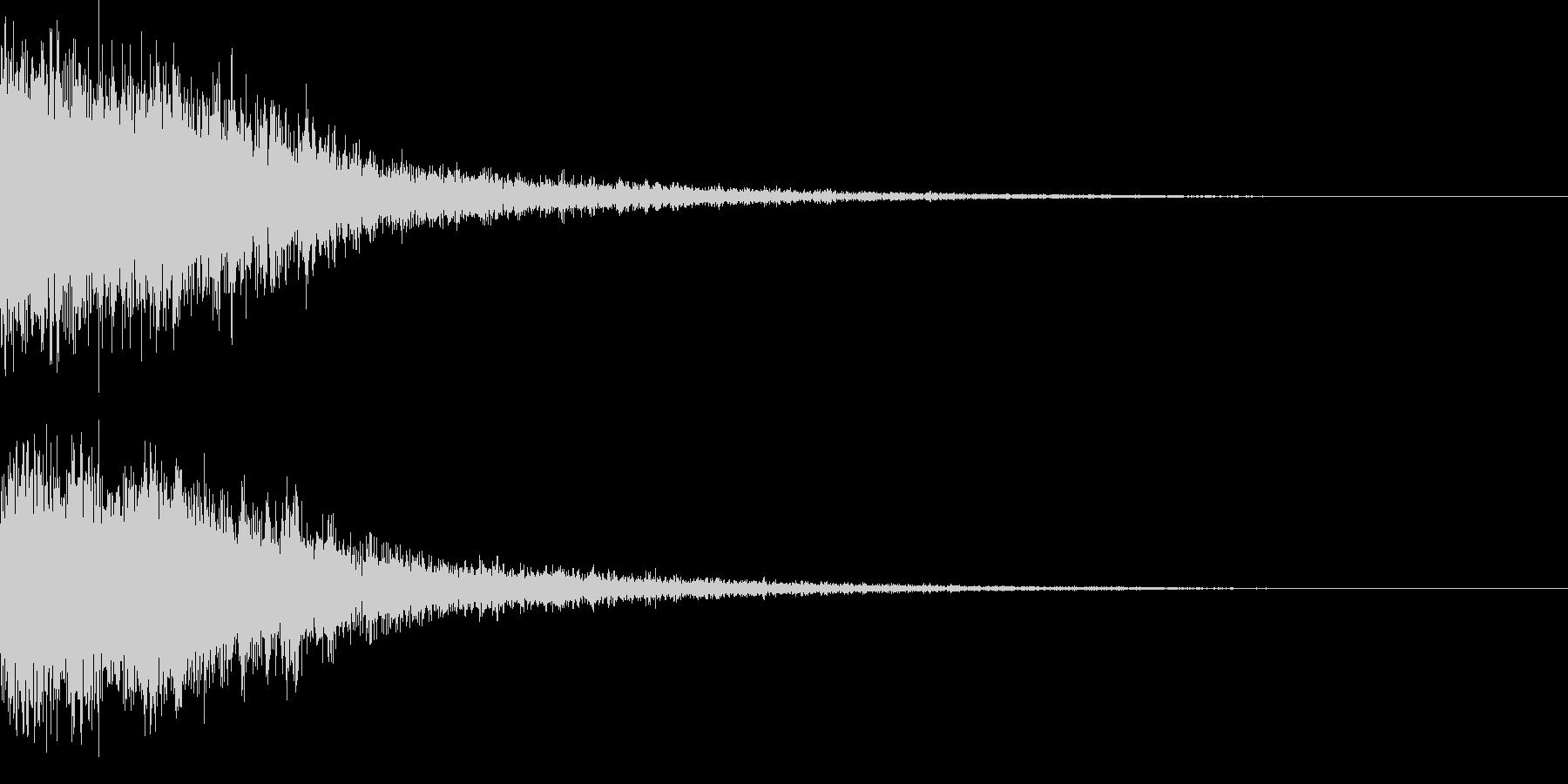 シャキーン♪クリア,達成,回復等に最適3の未再生の波形