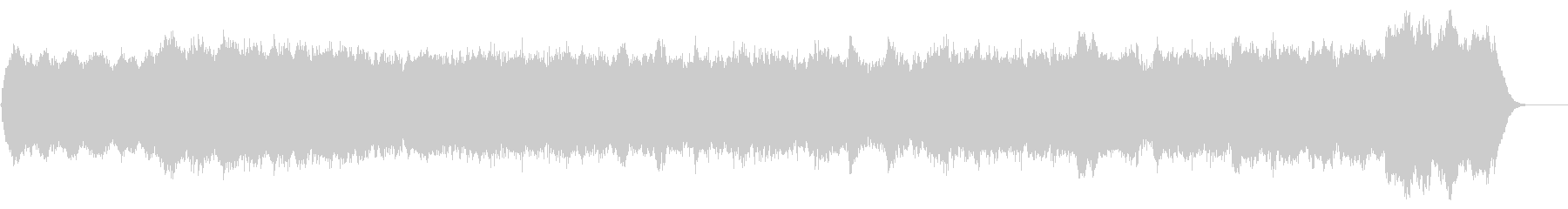 パイプオルガンオリジナル曲バッハ風です。の未再生の波形