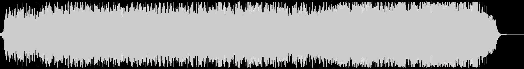 のどかで雄大なチェロのオリジナル曲の未再生の波形