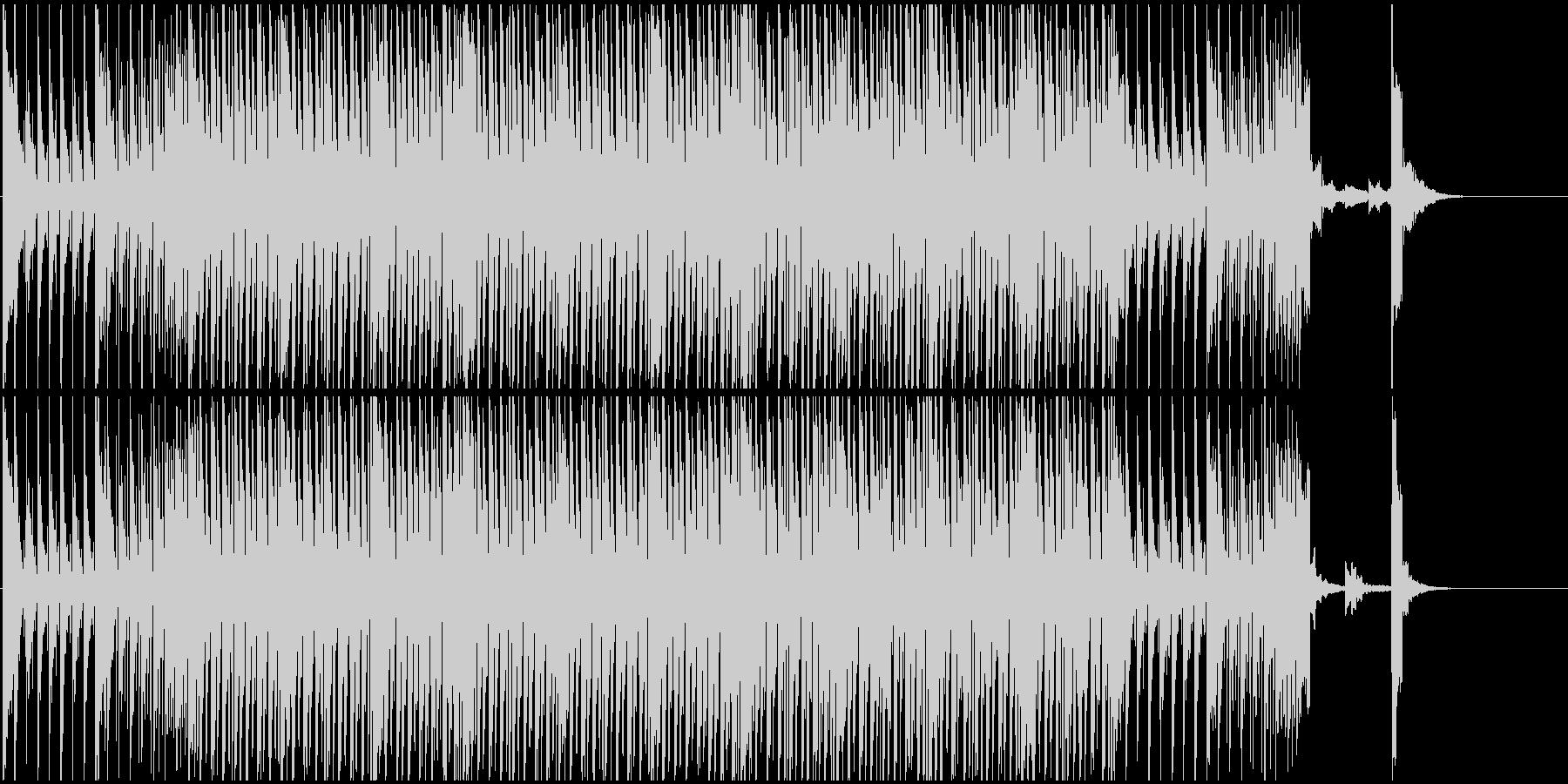 跳ねる オープニング ニュース 解説の未再生の波形