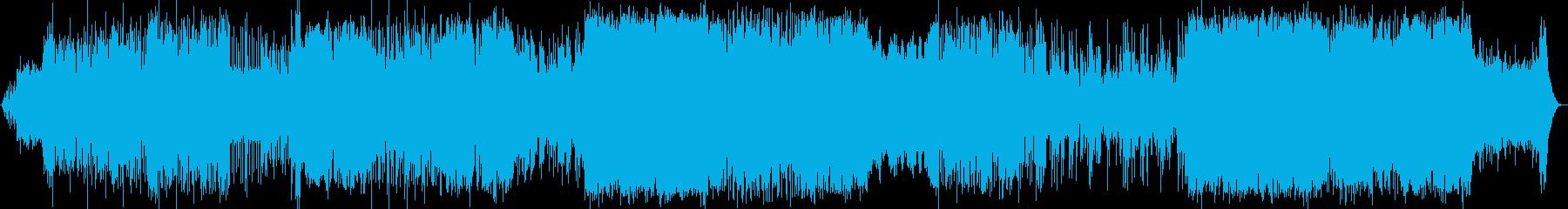 シンセサイザーをバックにバイオリン/サ…の再生済みの波形