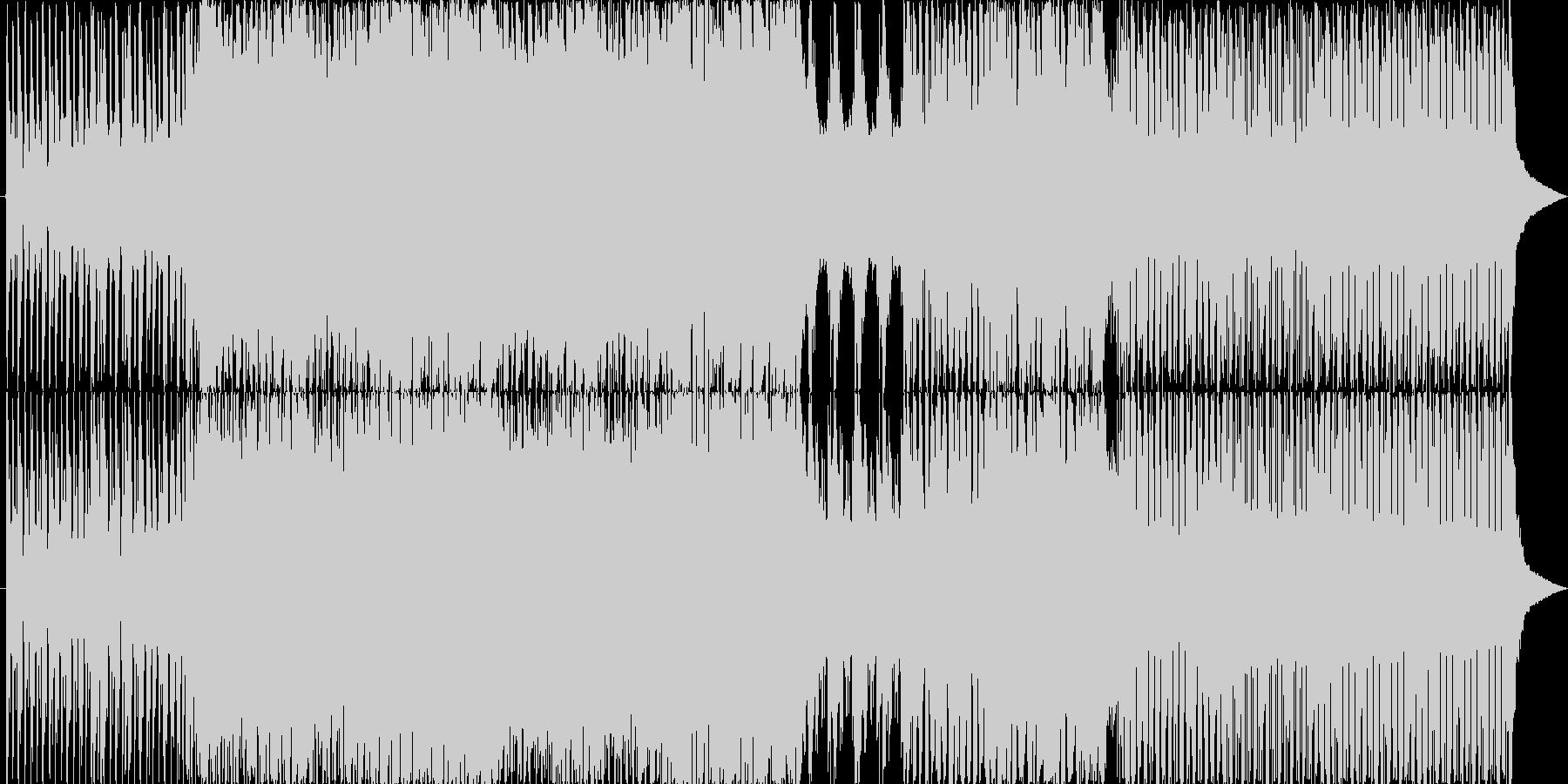 OH ROCKの未再生の波形