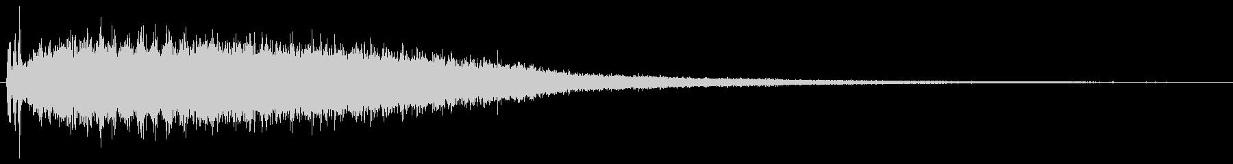 シャラララ…(流星)の未再生の波形