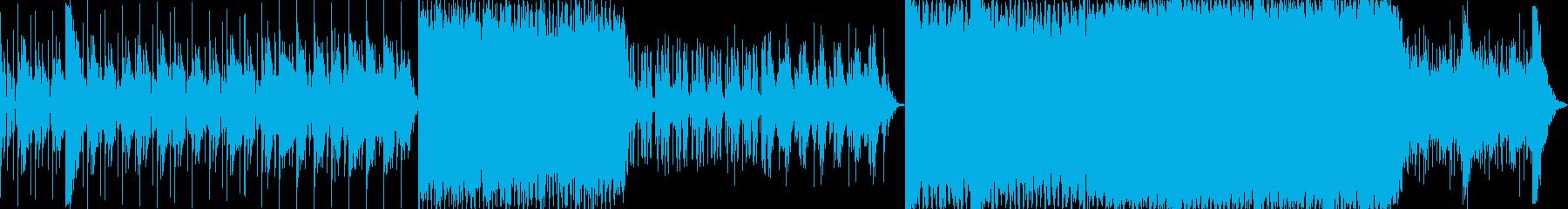 スケールの壮大なハリウッド映画系BGMの再生済みの波形