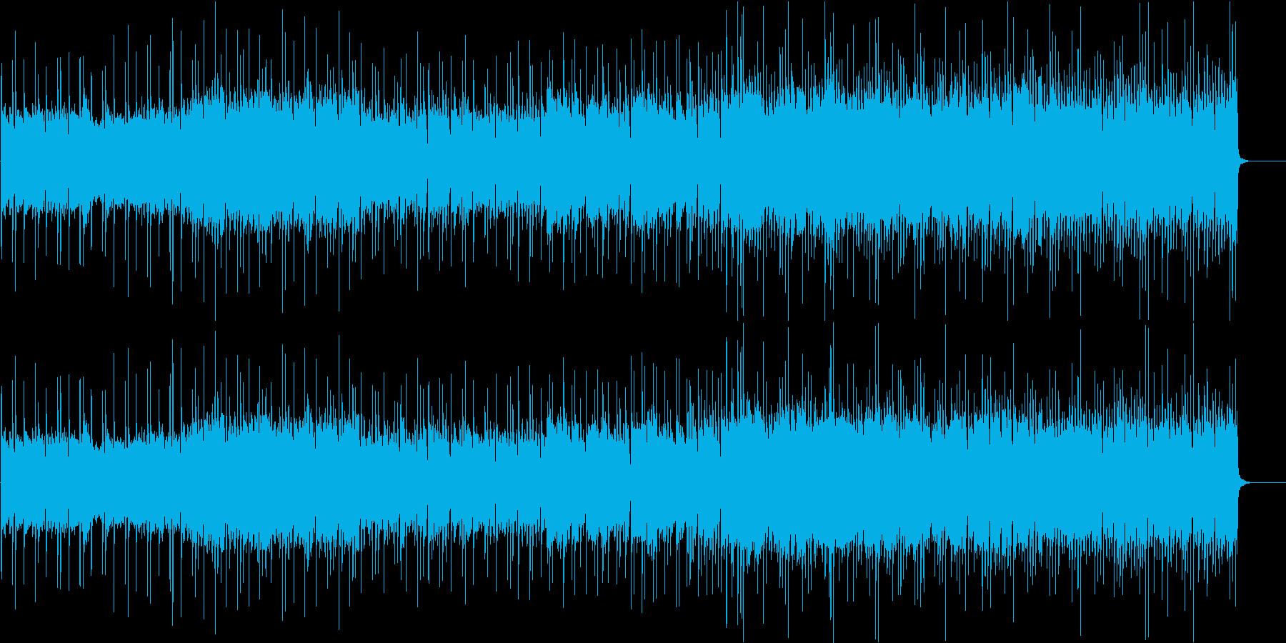 可愛らしいく軽快で少しセンチソウル風味の再生済みの波形