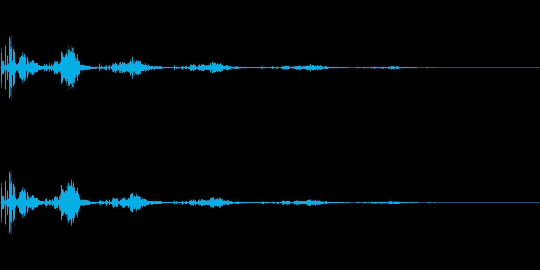 【SE 効果音】不気味な音3の再生済みの波形