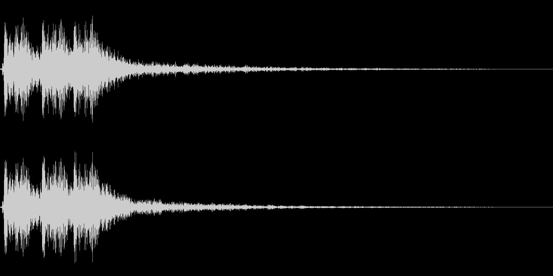 【打撃05-6】の未再生の波形