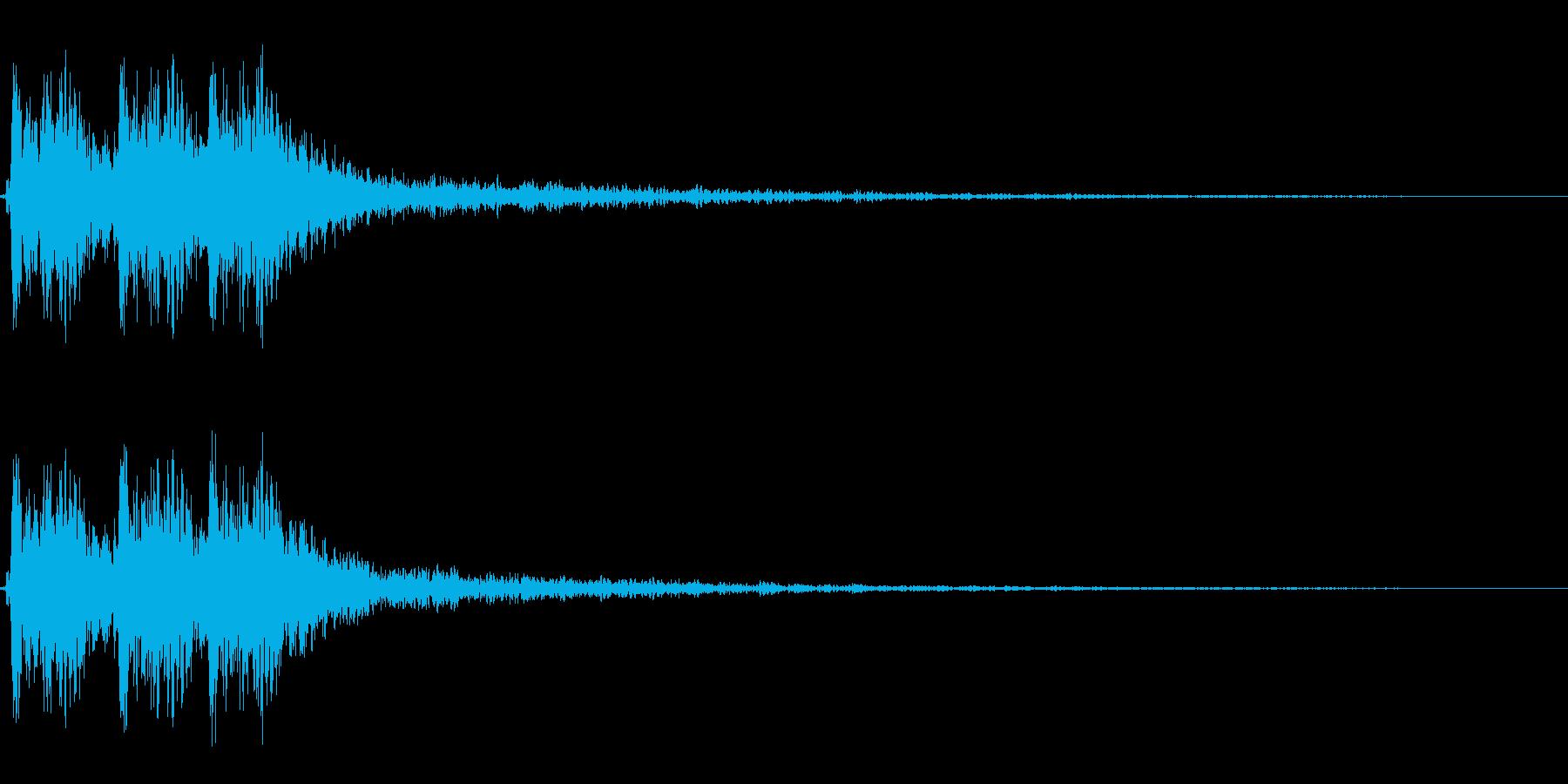 【打撃05-6】の再生済みの波形