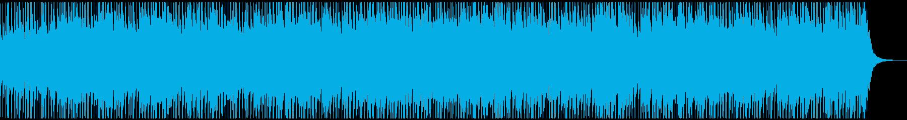キャッチーで明るいウクレレポップの再生済みの波形