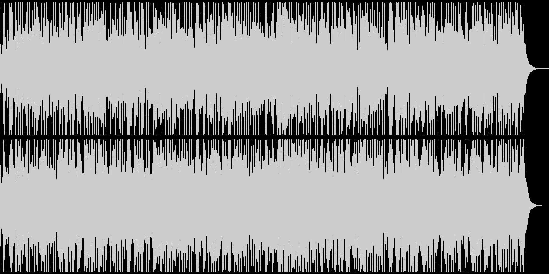 キャッチーで明るいウクレレポップの未再生の波形