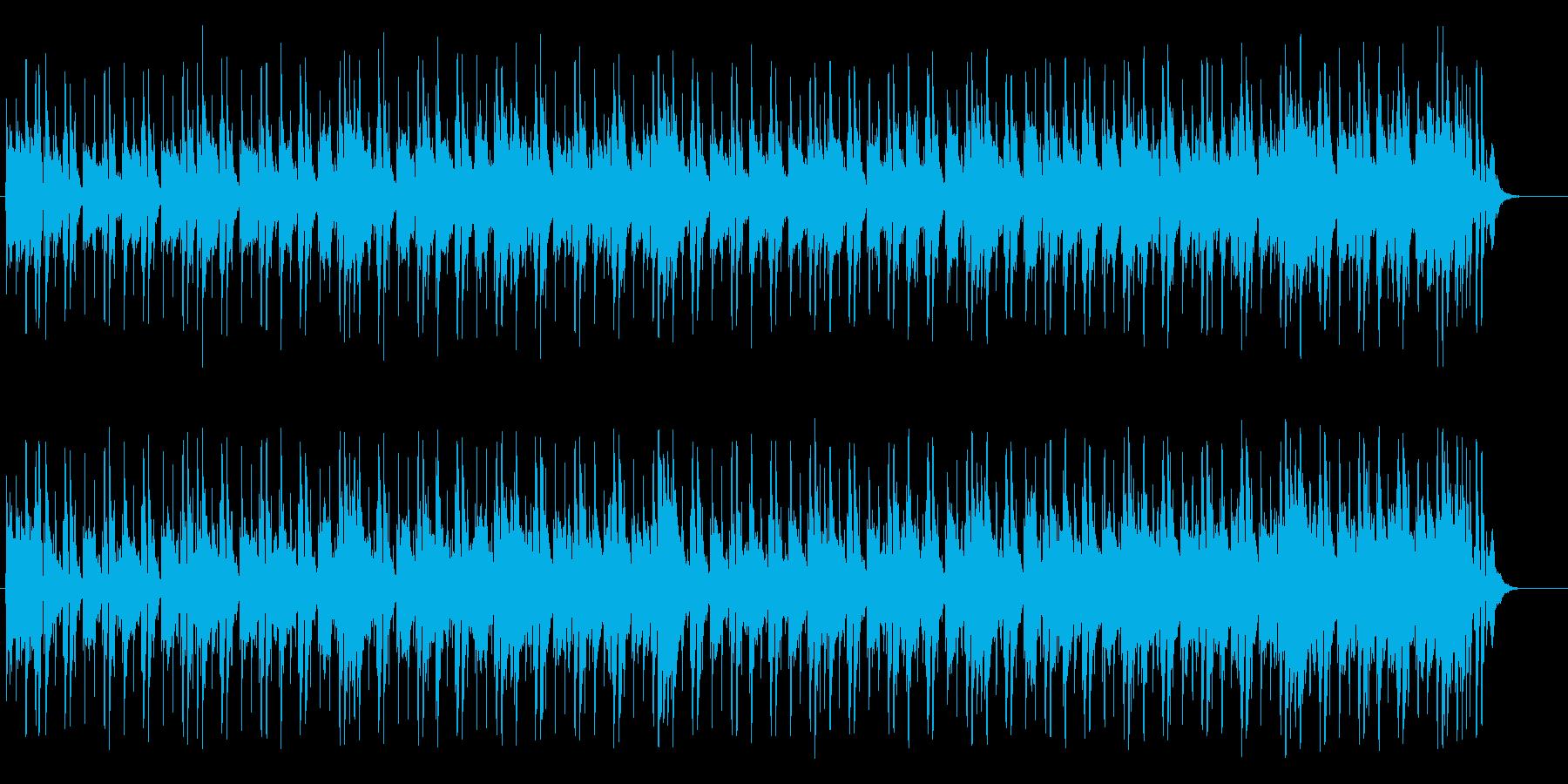 落ち着きのあるハウス系マイナー・ポップスの再生済みの波形