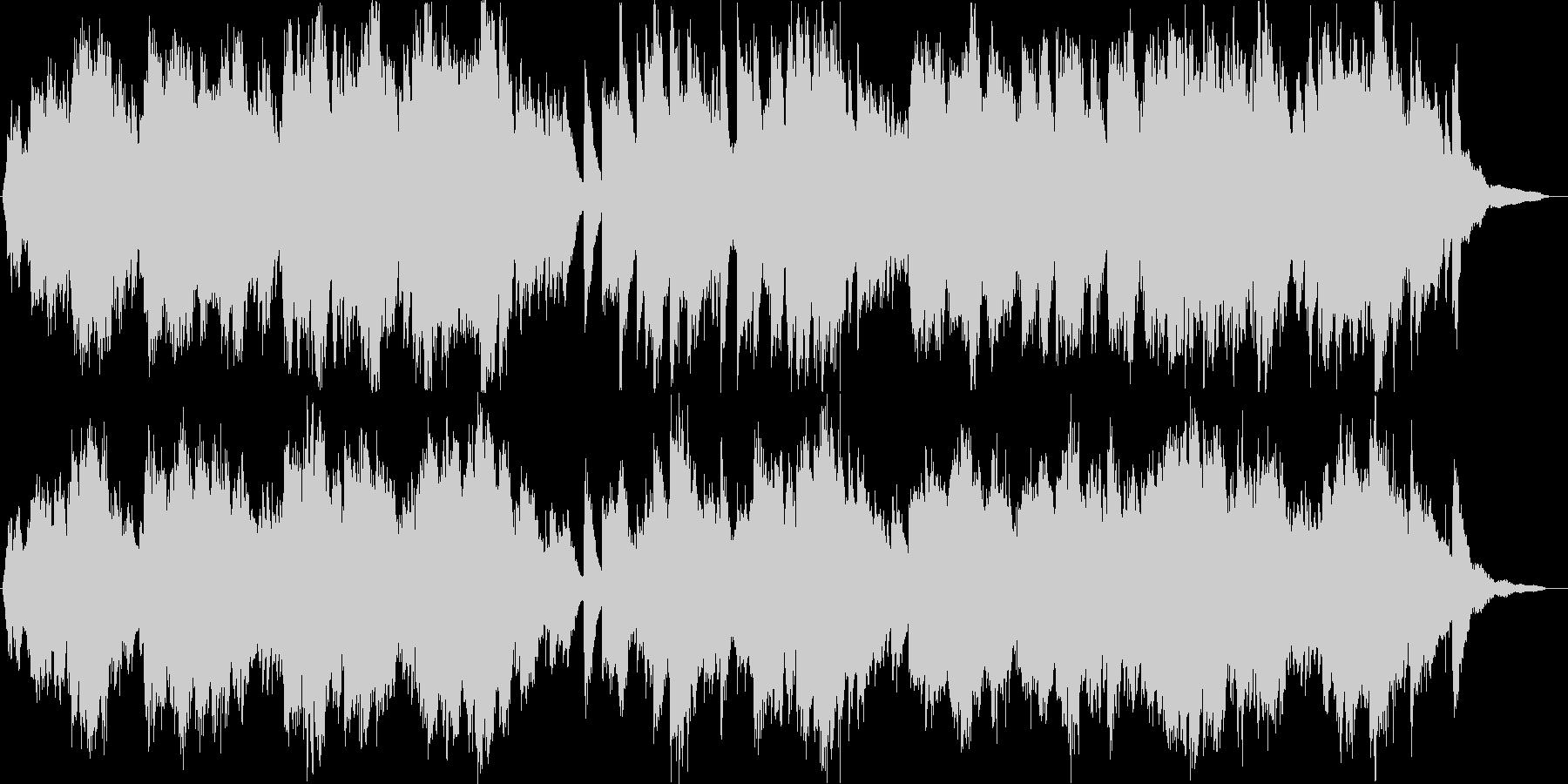 ピアノとヴァイオリンによる、ウェディン…の未再生の波形