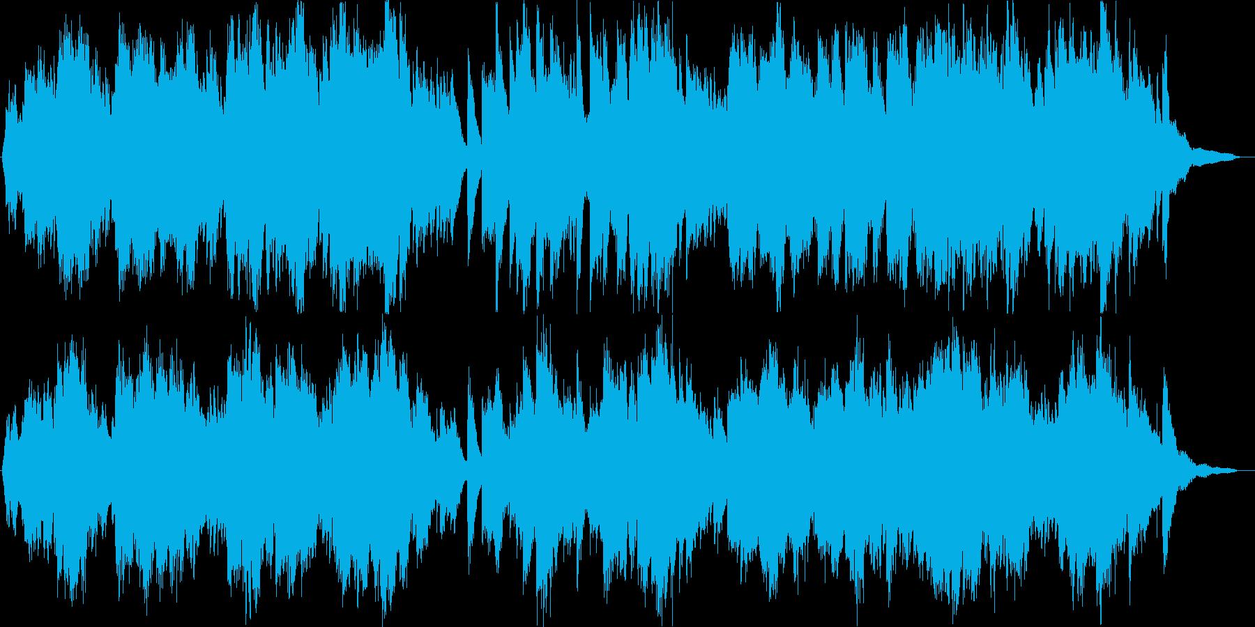 ピアノとヴァイオリンによる、ウェディン…の再生済みの波形