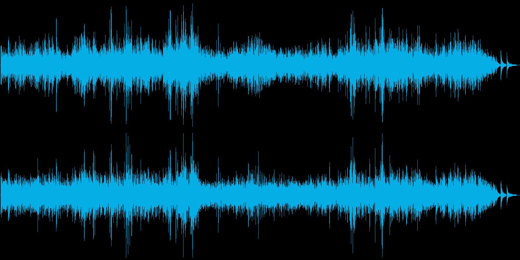 ベートーベン・ピアノソナタ第14番/月光の再生済みの波形