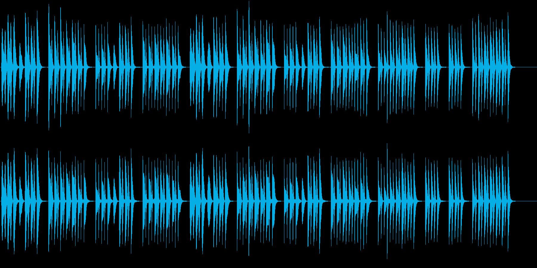 ほのぼのとした場面に使える木琴の曲の再生済みの波形