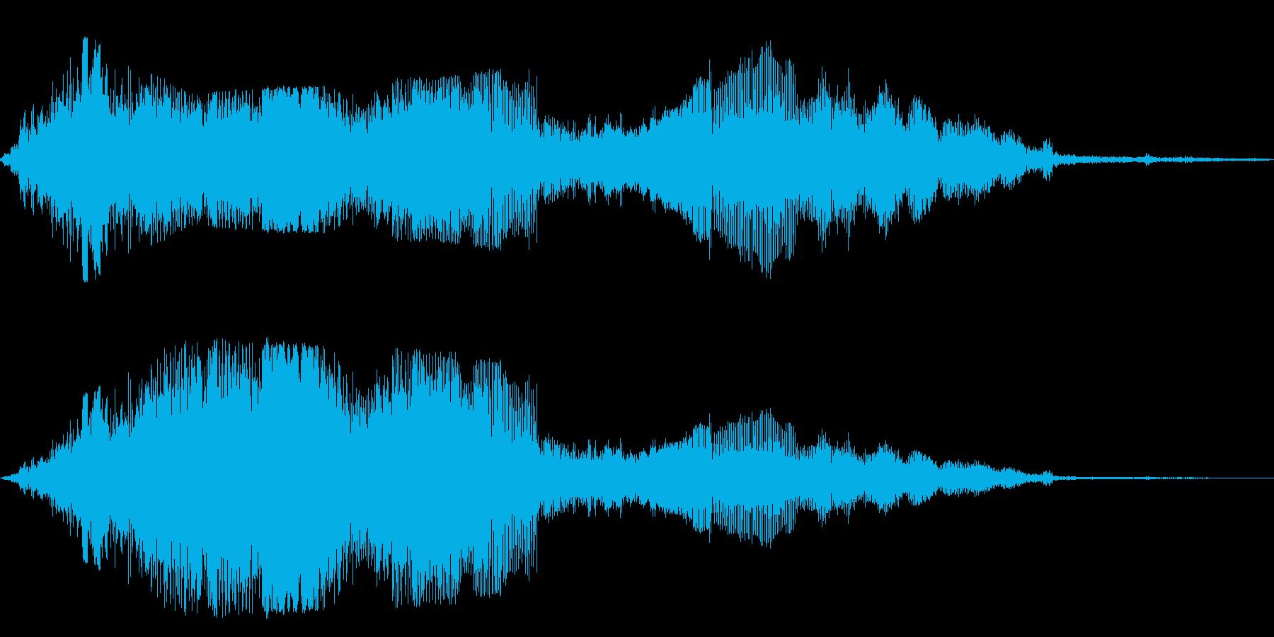 F1などのレース、エンジン音に最適!44の再生済みの波形