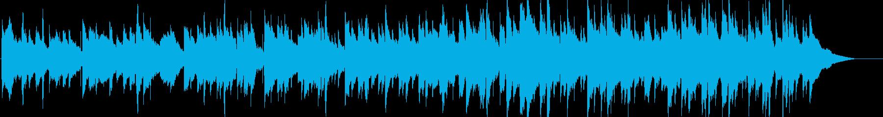 アコギメインののんびりしたリゾートBGMの再生済みの波形