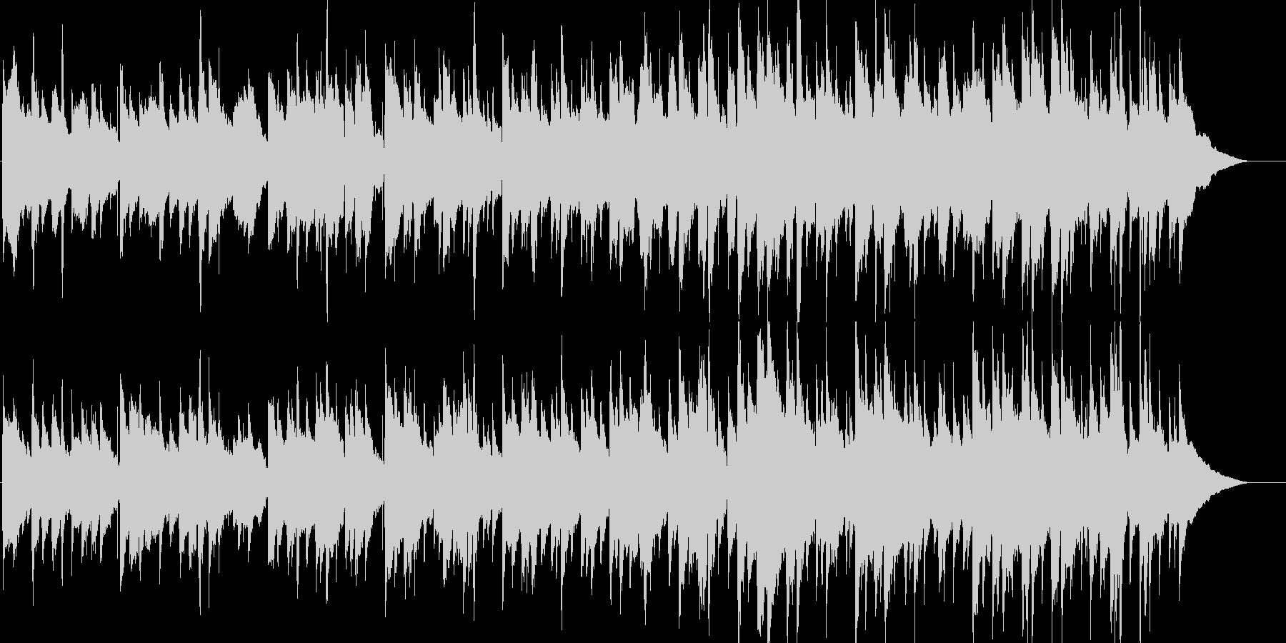 アコギメインののんびりしたリゾートBGMの未再生の波形