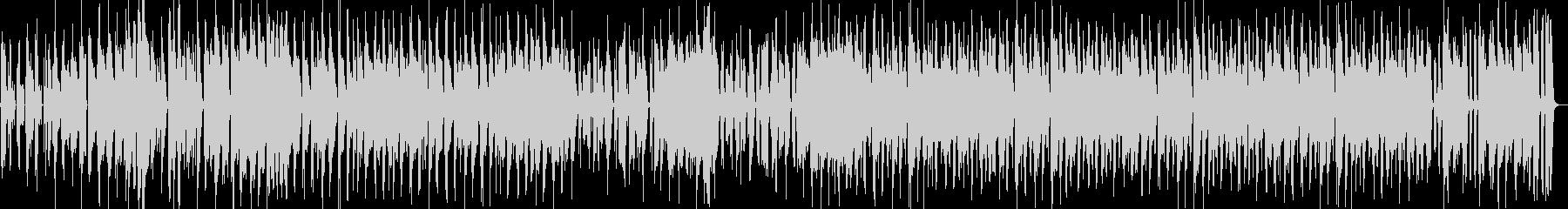 サックスピアノ陽気にダンスファンクの未再生の波形
