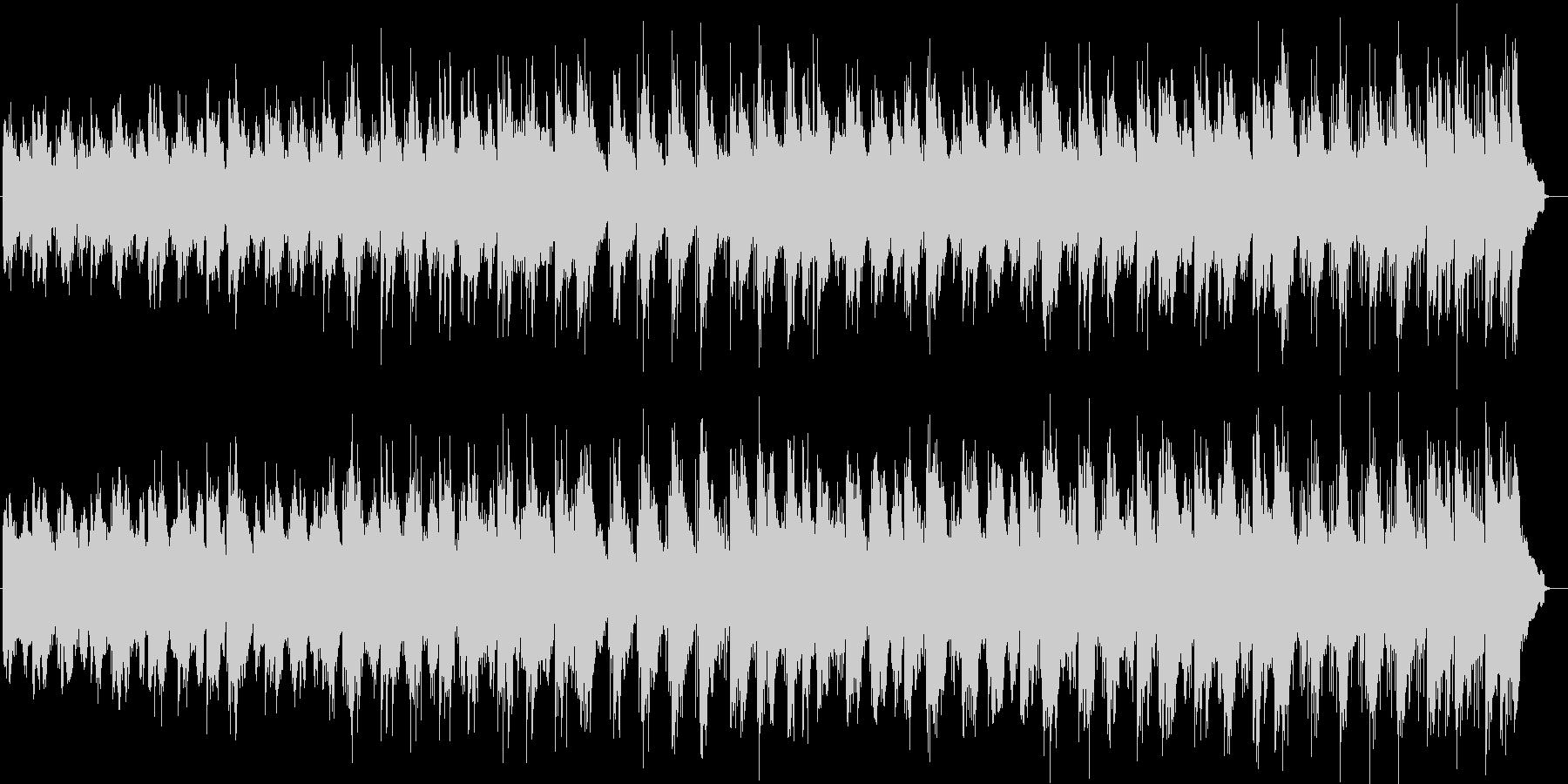 涼しげなシンセサイザーサウンドの未再生の波形