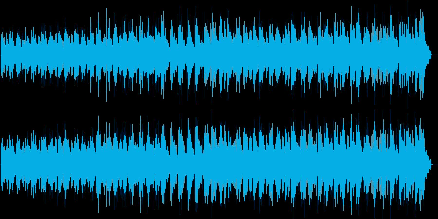 涼しげなシンセサイザーサウンドの再生済みの波形