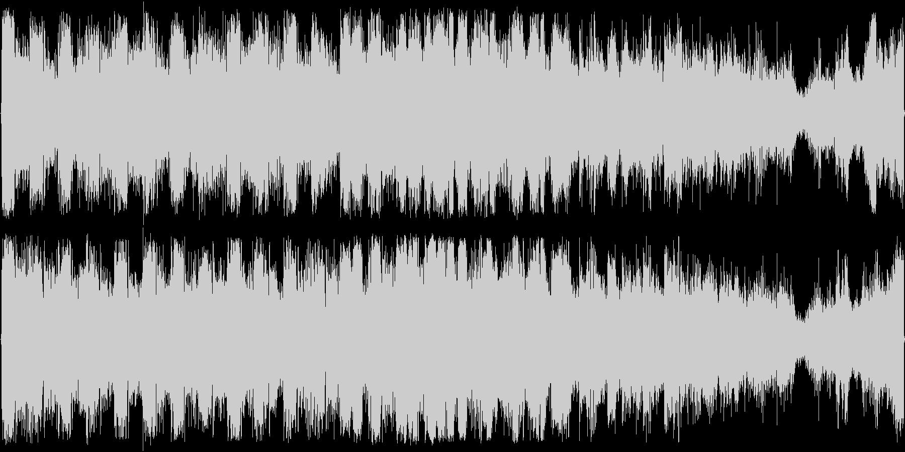 EDM風トラックの未再生の波形