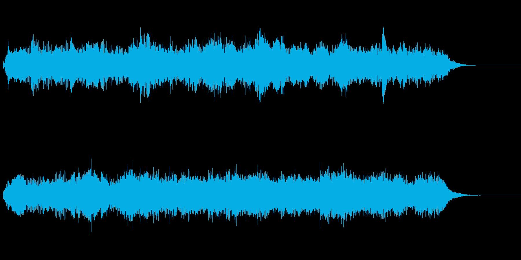 キラキラしたエレピが印象的なジングルの再生済みの波形