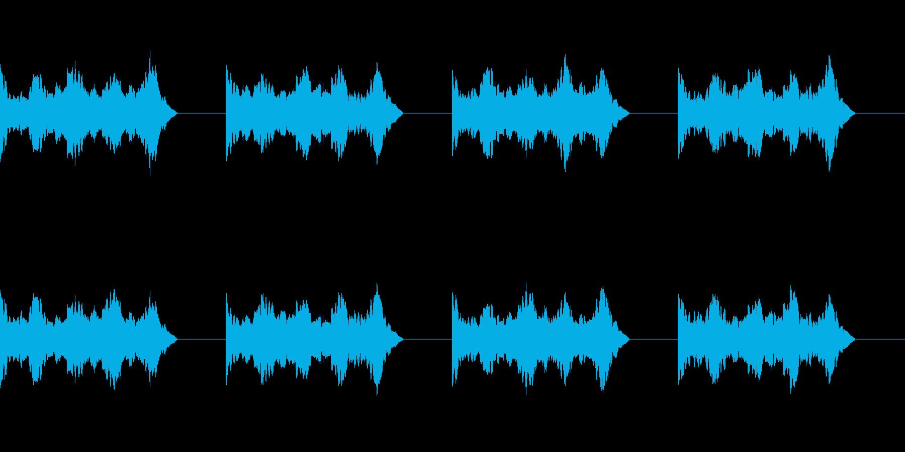 【アラーム01-1L】の再生済みの波形