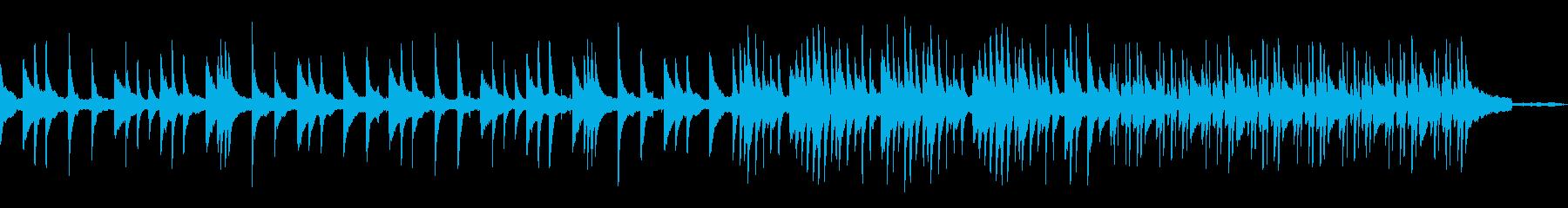 【シンセ抜】穏やかで優しい雰囲気ピアノ曲の再生済みの波形