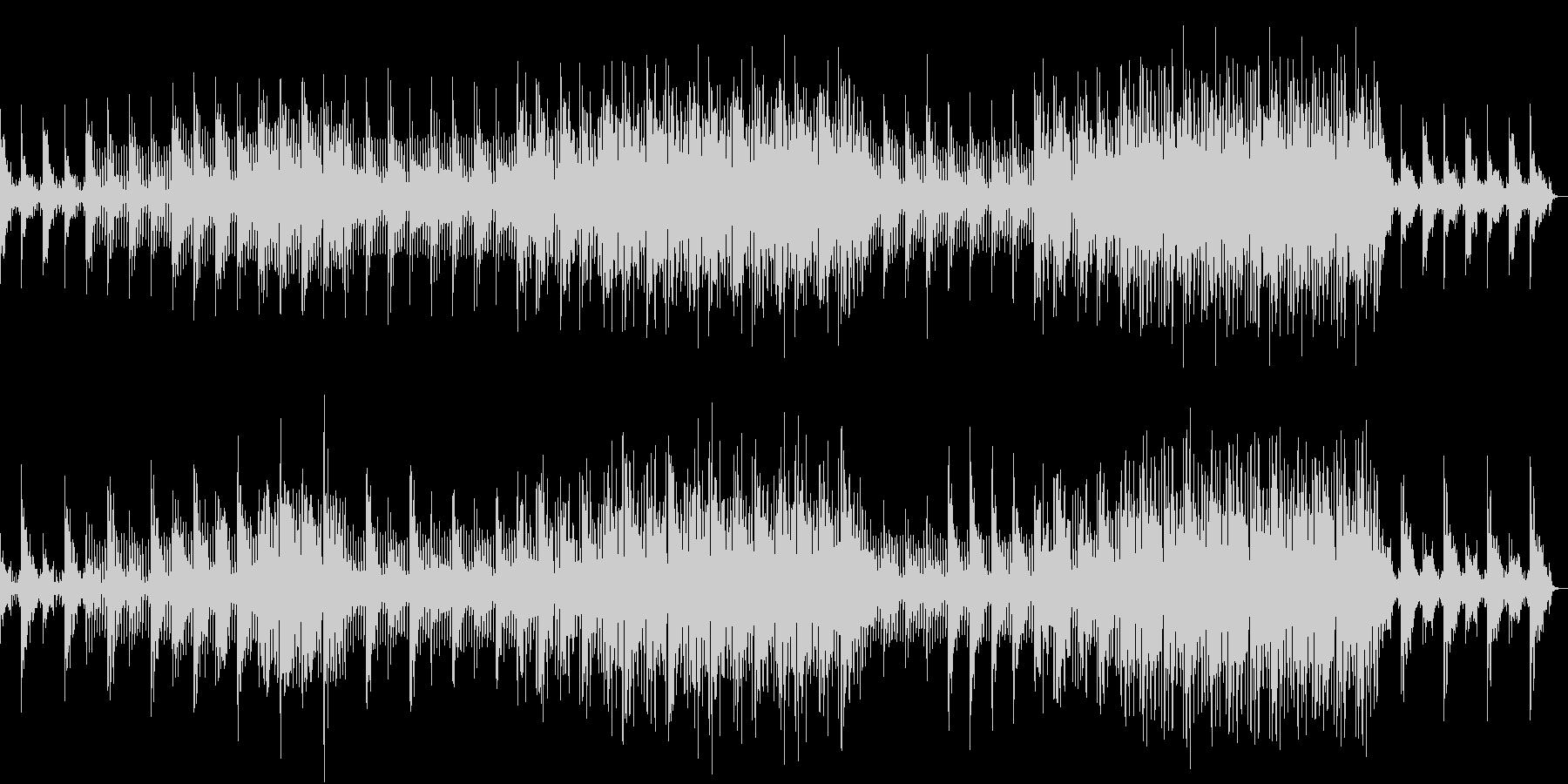 静かで幻想的なアンビエントサウンドの未再生の波形