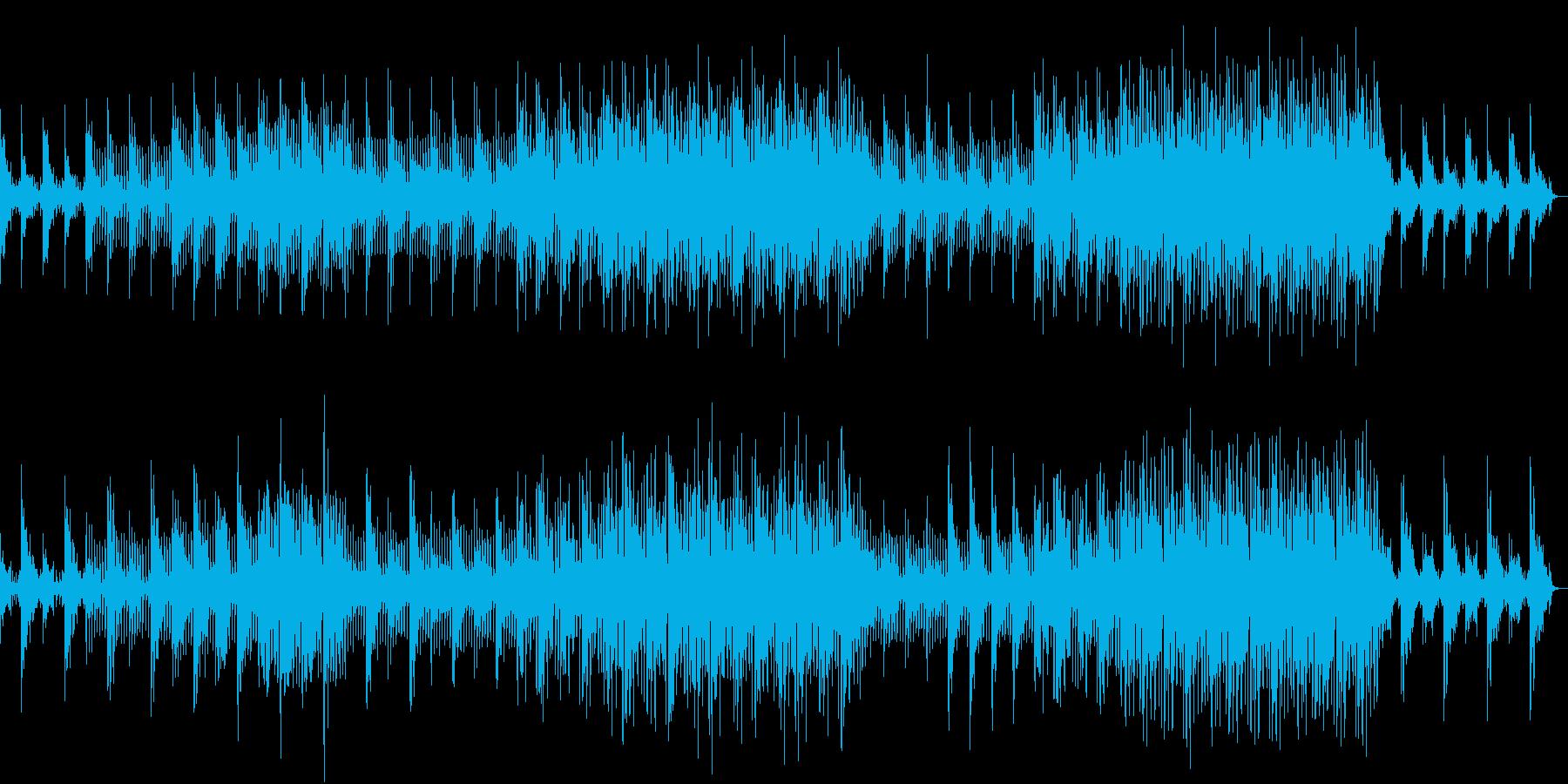 静かで幻想的なアンビエントサウンドの再生済みの波形