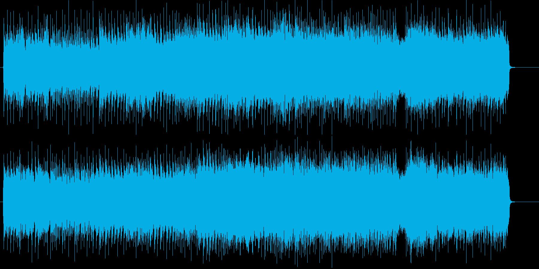 ポジティブなハード&ヘヴィー・サウンドの再生済みの波形