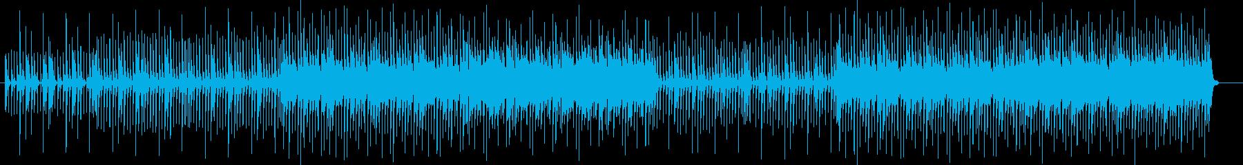 おしゃれで近未来感のあるシンセサウンドの再生済みの波形