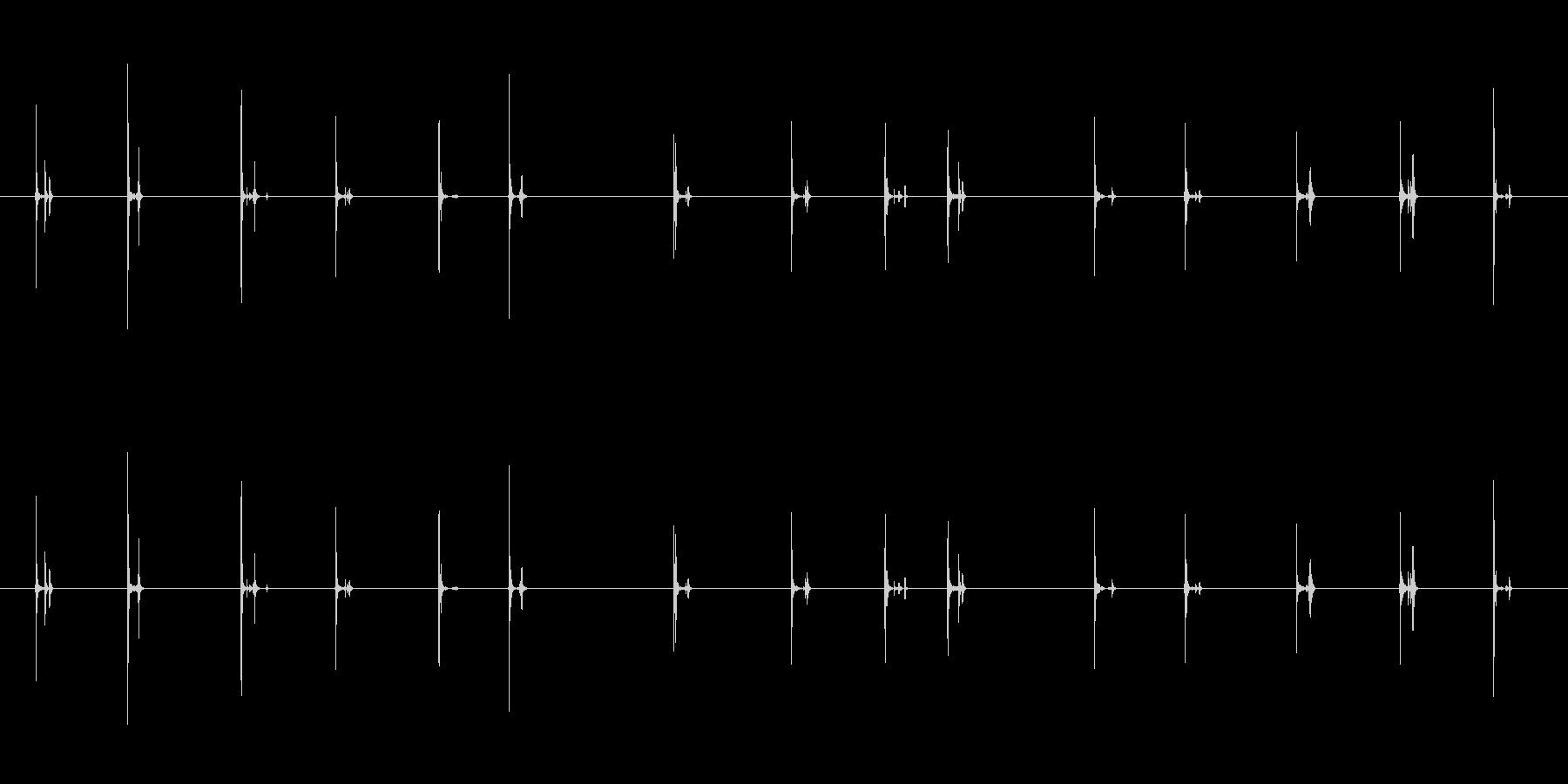 【PC キーボード01-テンキー1】の未再生の波形