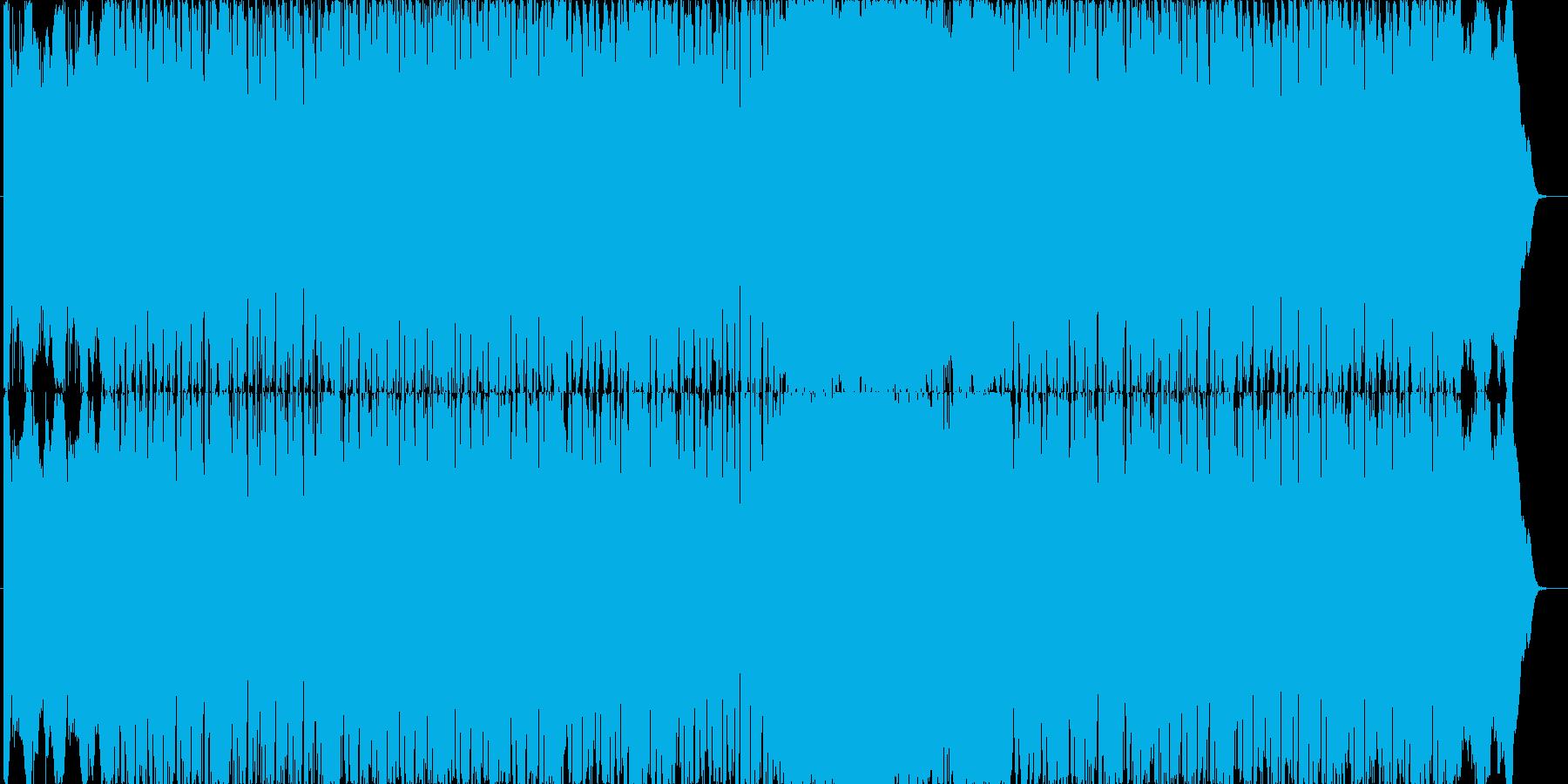 曲のタイトル通りChaos(混沌)をイ…の再生済みの波形